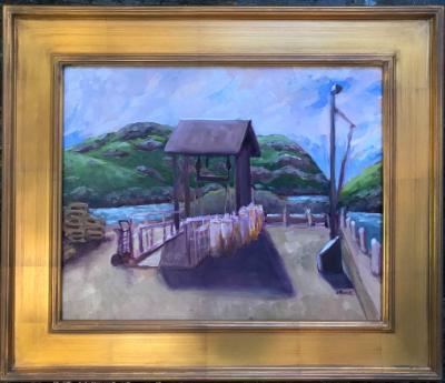 Monhegan Dock
