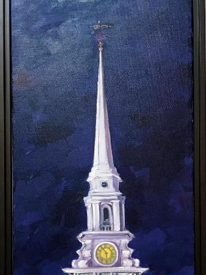 North Church at Night